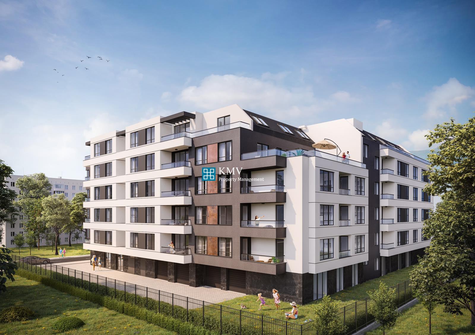 Двустаен апартамент в сграда Reya Residence кв. Кръстова вада