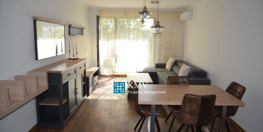 Нов луксозно обзаведен двустаен апартамент под наем