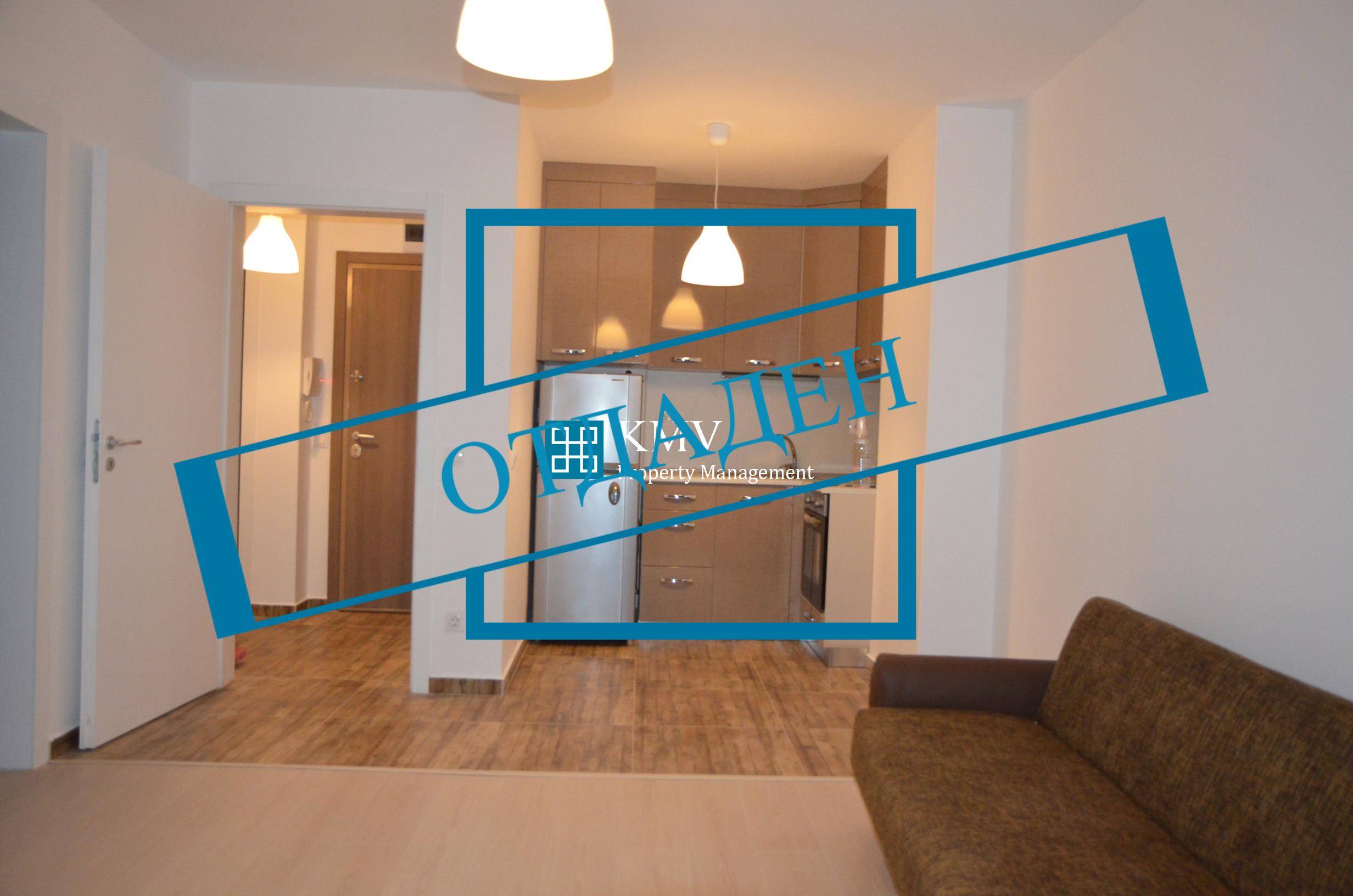 Обзаведен тристаен апартамент в кв. Студентски град