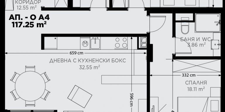 сграда O_ап.OА-4